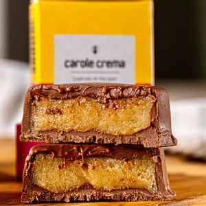 Quadrado de chocolate e marzipan (45g)