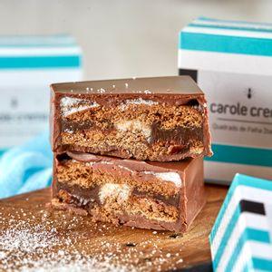 Quadrado de chocolate e palha italiana (45g)
