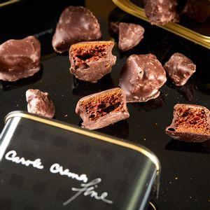 Pepitas de Honeycomb e Chocolate Amargo (150g)