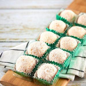 Pack de 10 Brigadeiros de Caramelo e Flor de Sal